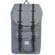 Herschel Little America Backpack Raven Crosshatch/Black Rubber